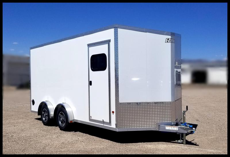 EZ Hauler 7.5 x 16 ATV Enclosed Cargo Trailer