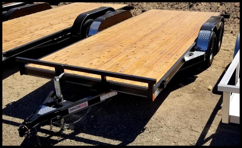 2019 Innovative Trailer Mfg. 83 x 16 Tandem Axle Flatbed Trailer