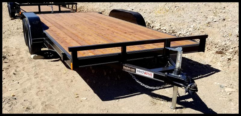 2019 Innovative  83 x 16 Flatbed Trailer
