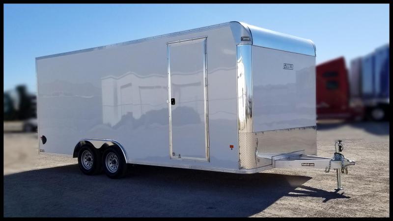 2020 Mission 8 x 20 Aluminum Enclosed Cargo Trailer