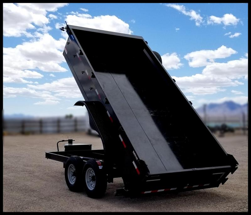 2020 Innovative 83 x 14 Dump Trailer 14000 GVWR