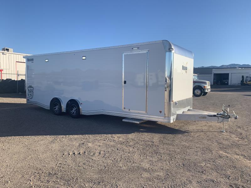 2020 Mission  8.5 x 26 Aluminum Enclosed Cargo Trailer
