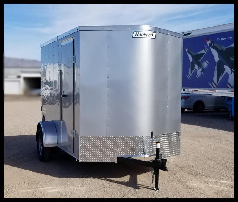 2020 Haulmark 6 x 10 Enclosed Cargo Trailer