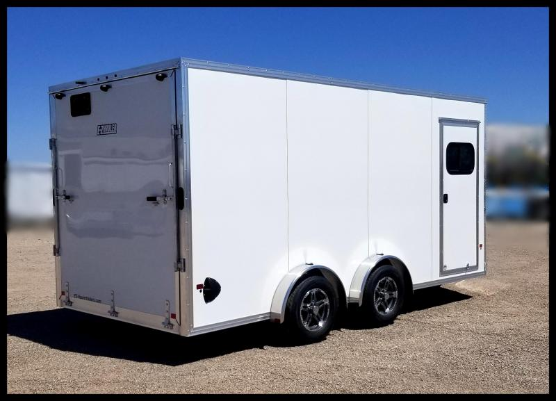 2019 EZ Hauler ATV Enclosed Cargo Trailer