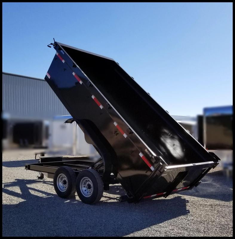 "2020 Innovative Trailer Mfg. 83X14 Comp dump Trailer 36"" sides Dump Trailer"