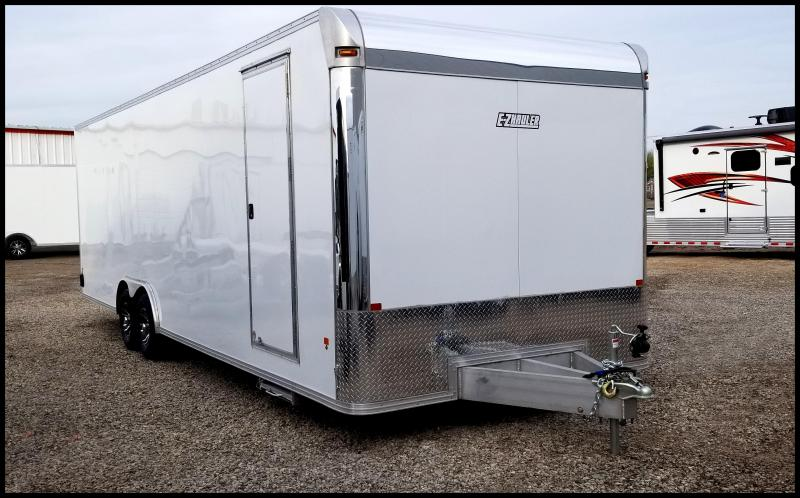 2019 Mission EZ Hauler 8 x 28 Aluminum Enclosed Cargo Trailer