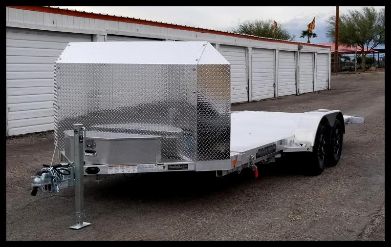 2020 Aluma 82 x 18 Flatbed Trailer