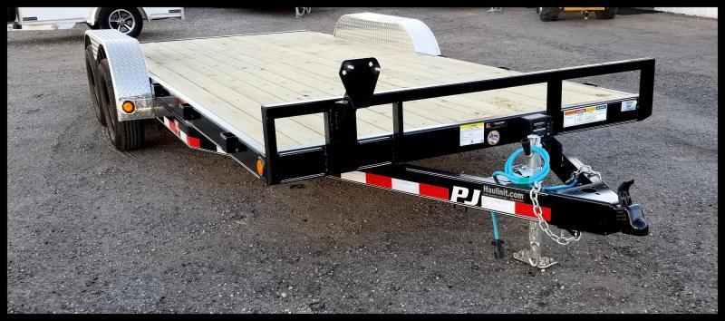 2020 PJ Trailers 83 x 18 Flatbed Trailer