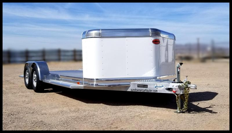 2020 Sundowner Trailers 81 x 19 Car / Racing Trailer