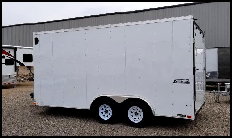 2020 Haulmark 8.5 x 16 Enclosed Cargo Trailer