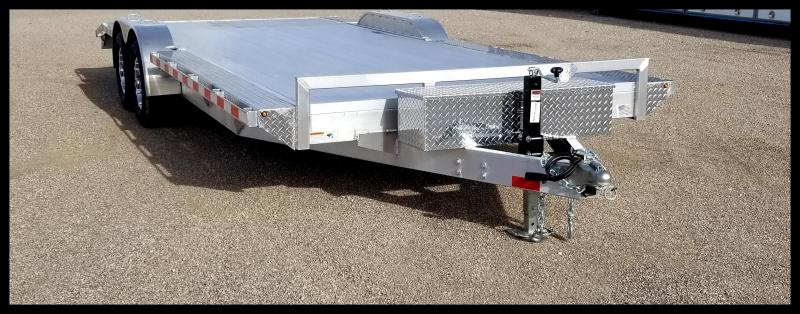2020 H and H Trailer 82X18+2DOVE ALUM HEAVYDUTY 10K