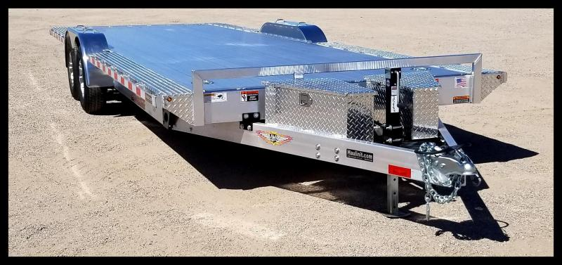 "2020 H and H Trailer 102"" x 24' Power Speed Loader Aluminum"