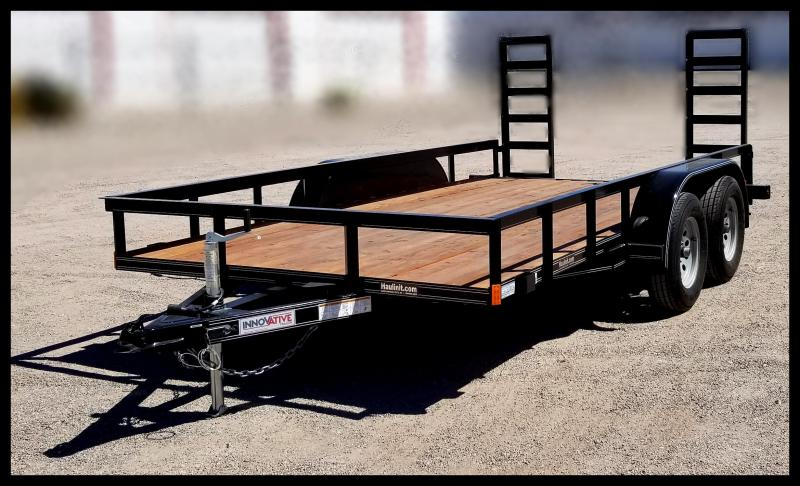 2019 Innovative Trailer Mfg. Innovative 83 x 16 Flatbed Utility Trailer