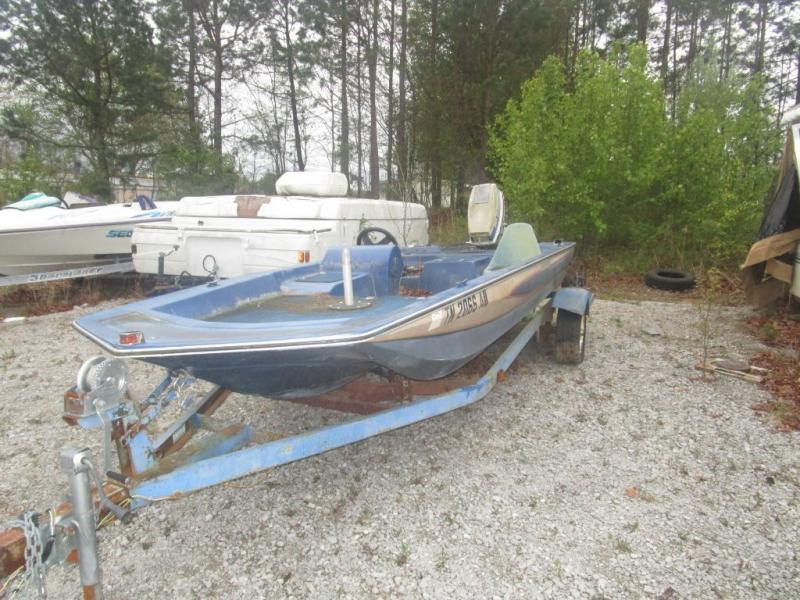 1984 Glasstream Boats Glassstream 1550 PRO BASS