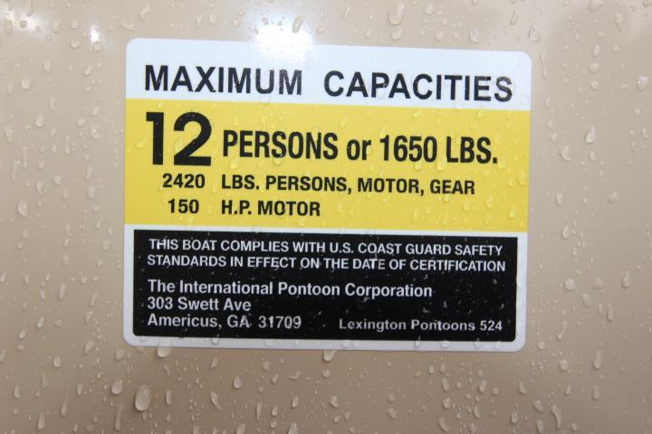 2020 Lexington Marine Group Lexington 524