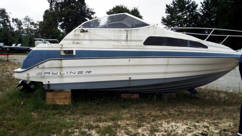 1991 Brunswick Boat Group Bayliner 2255 SUNBRIDGE