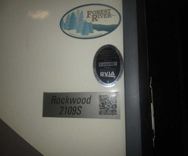 2017 Forest River Rockwood Mini 2109S