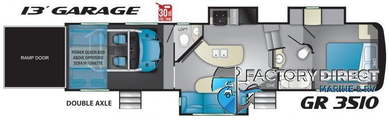 2020 Heartland Recreational Vehicles, Llc Gravity GR3610