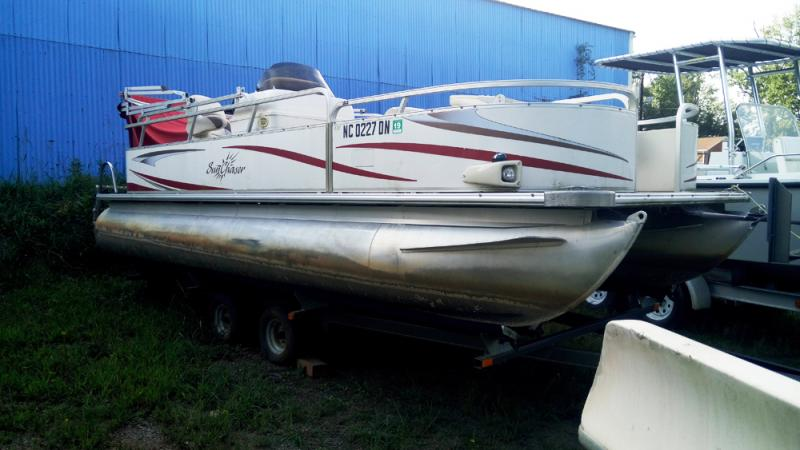 2008 Smoker Craft Smoker Craft SUNCHASER CRUISE 820 C