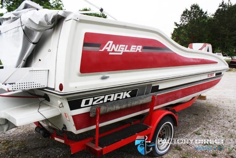 1988 Ozark Boat Works Ozark DB-20A ANGLER