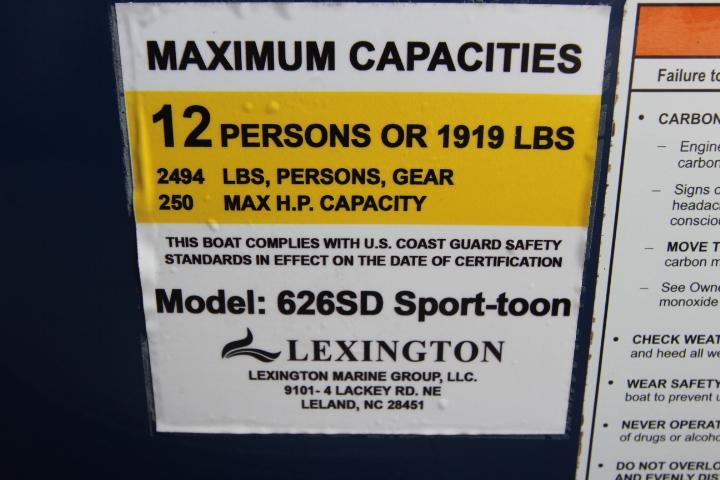 2018 Lexington Marine Group Lexington Marine Group 625SD