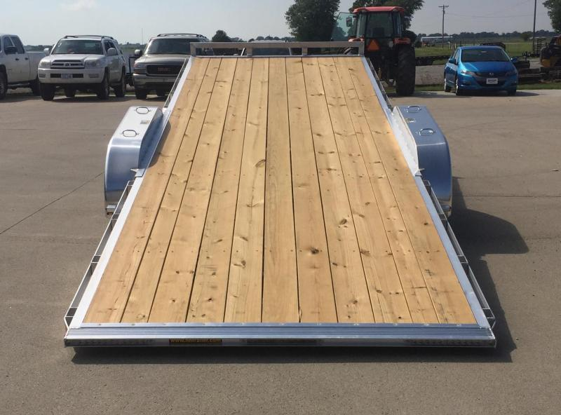 2020 H and H Trailer Aluminum 22' Speedloader 10k Car / Racing Trailer