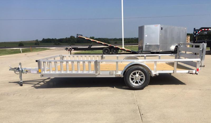 2020 H and H Trailer 14' Aluminum ATV Trailer