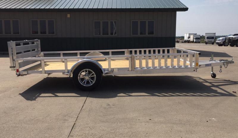 2020 H and H Trailer 14' Aluminum ATV Trailer