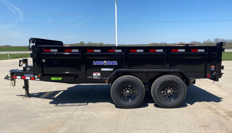 2020 Load Trail 14' Bumper Pull 14k Dump Trailer