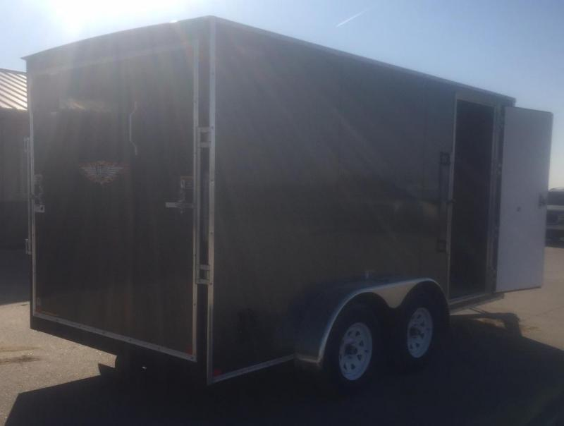2020 H & H Trailers 7'x14' V-Nose Enclosed Cargo Trailer