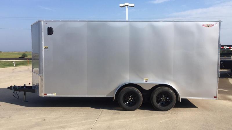 2020 H and H Trailer 16 Flat Top V-Nose Cargo Enclosed Cargo Trailer