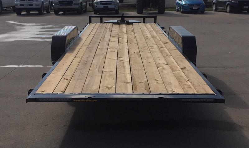 2020 H and H Trailer 22' Speed Loader Equipment Trailer