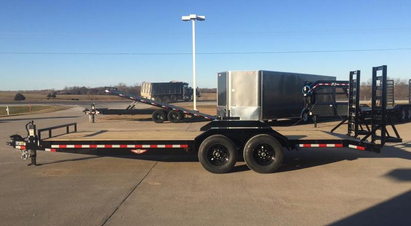 2020 H & H Trailers 22' Equipment Trailer