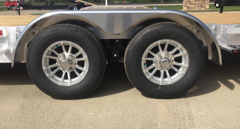 2020 H and H Trailer Aluminum 22' Speedloader 10k Car / Racing Trailer