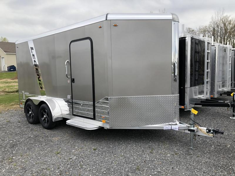 2020 Legend DVN Deluxe 7 X 17 Enclosed Cargo Trailewith 110v