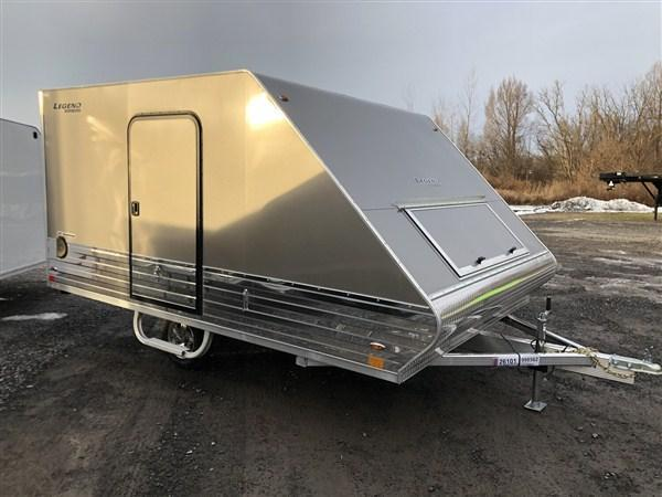 "2020 Legend Sports Series Deluxe 101"" X 13' Snowmobile Trailer"