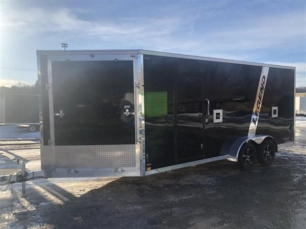 2020 Legend Explorer 3 Place 7 X 23 Inline Snowmobile Trailer