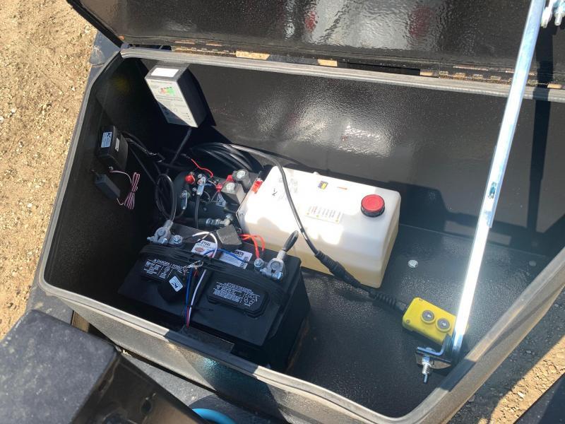 "2020 Double A Trailers 83"" x 12FT Tandem Axle Dump Trailer (14000LB GVW) Dump Trailer"