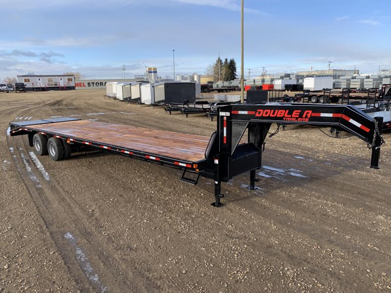 "2020 Double A, 102"" x 34FT Gooseneck Trailer (25000LB GVW)"