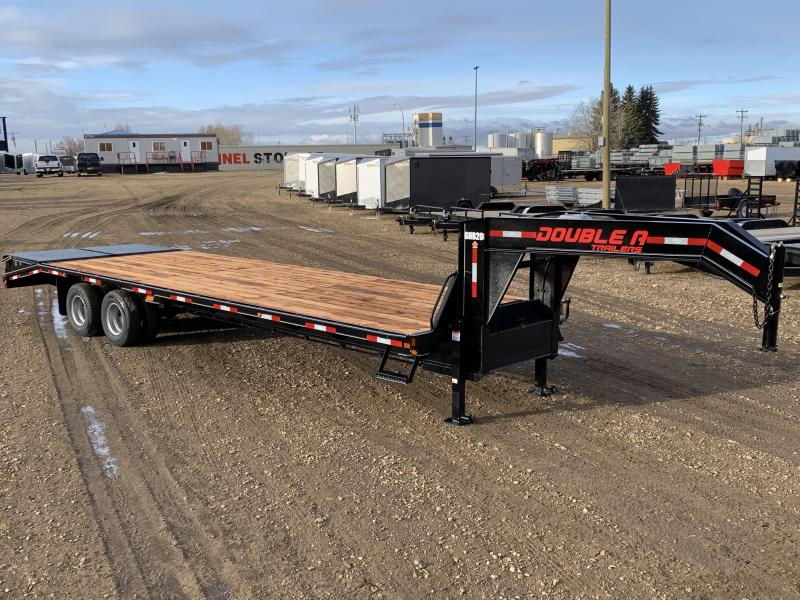 "2020 Double A, 102"" x 30FT Gooseneck Trailer (22000LB GVW)"