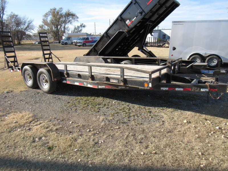 2010 PJ Trailer 6 in. Channel Equipment Trailer Equipment Trailer