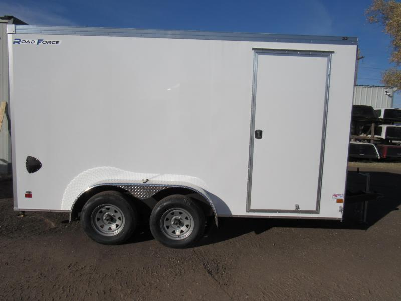 2020 Wells Cargo 2020 Wells Cargo Road Force 7X14V UTV PACKAGE* Enclosed Cargo Trailer