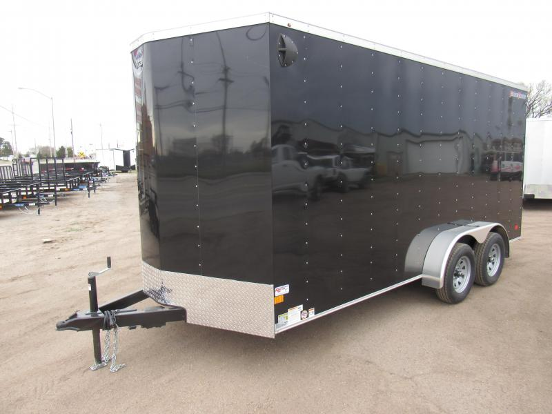 2020 Wells Cargo FT716T2 7 X 16 Enclosed Cargo Trailer