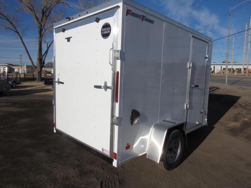 2020 Wells Cargo Fast Trac 6 X 10 V-Nose Enclosed Cargo Trailer