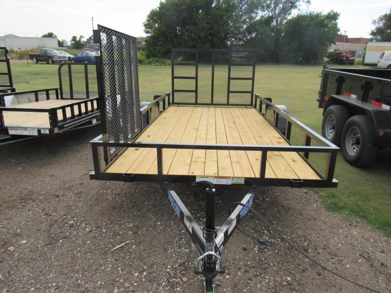 "2019 Top Hat 77"" X 14' Utility Trailer"