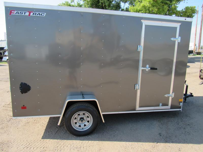 2020 Wells Cargo Fast Trac 6 X 12 V-Nose Enclosed Cargo Trailer
