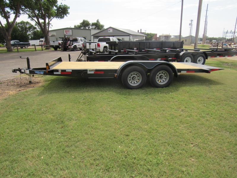 "2019 Top Hat Trailers 83"" X 18' Tilt Car Hauler 10K Car / Racing Trailer"