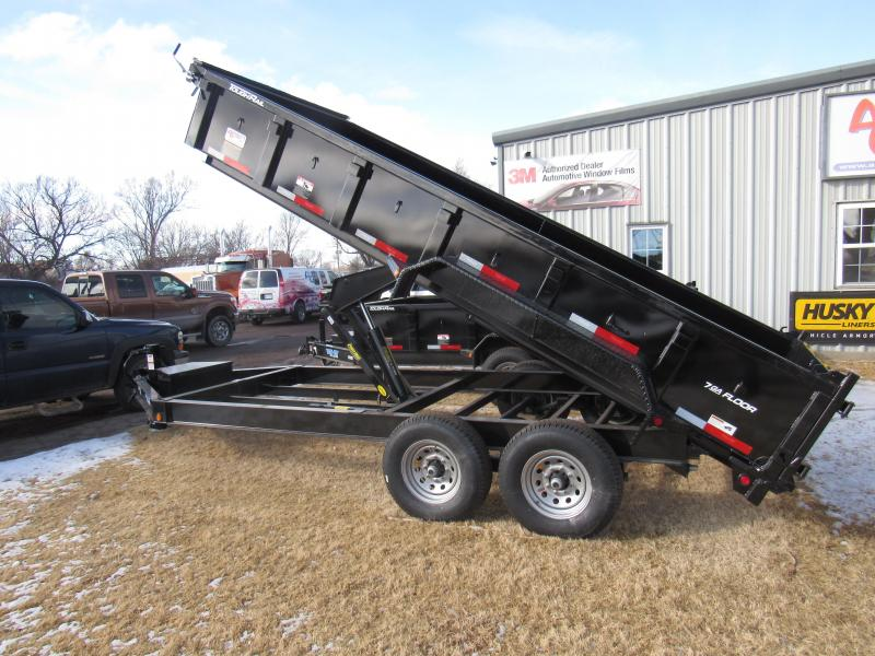 "2020 Top Hat Trailers 83"" X 16' Lo Pro Dump Trailer"