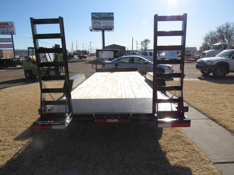 "2020 Top Hat Trailers 83"" X 20' Equipment Trailer"