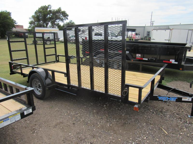 """2019 Top Hat Trailers Utility 77"""" X 12' Utility Trailer"""